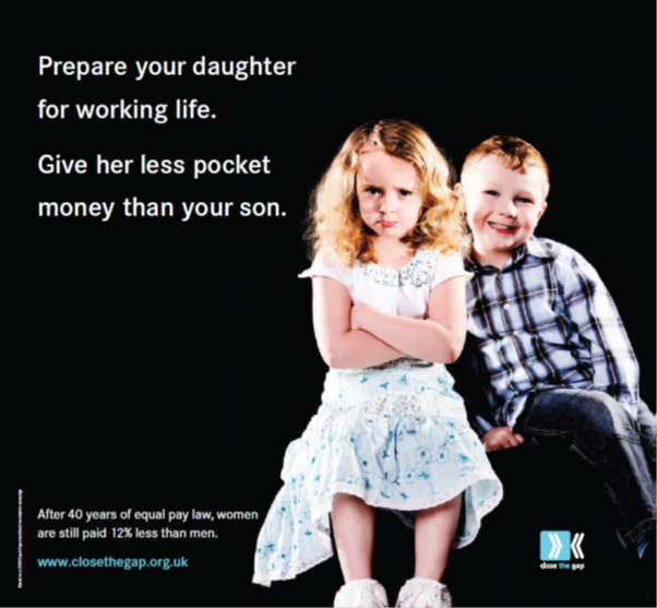 Image of Close the Gap campaign postcard