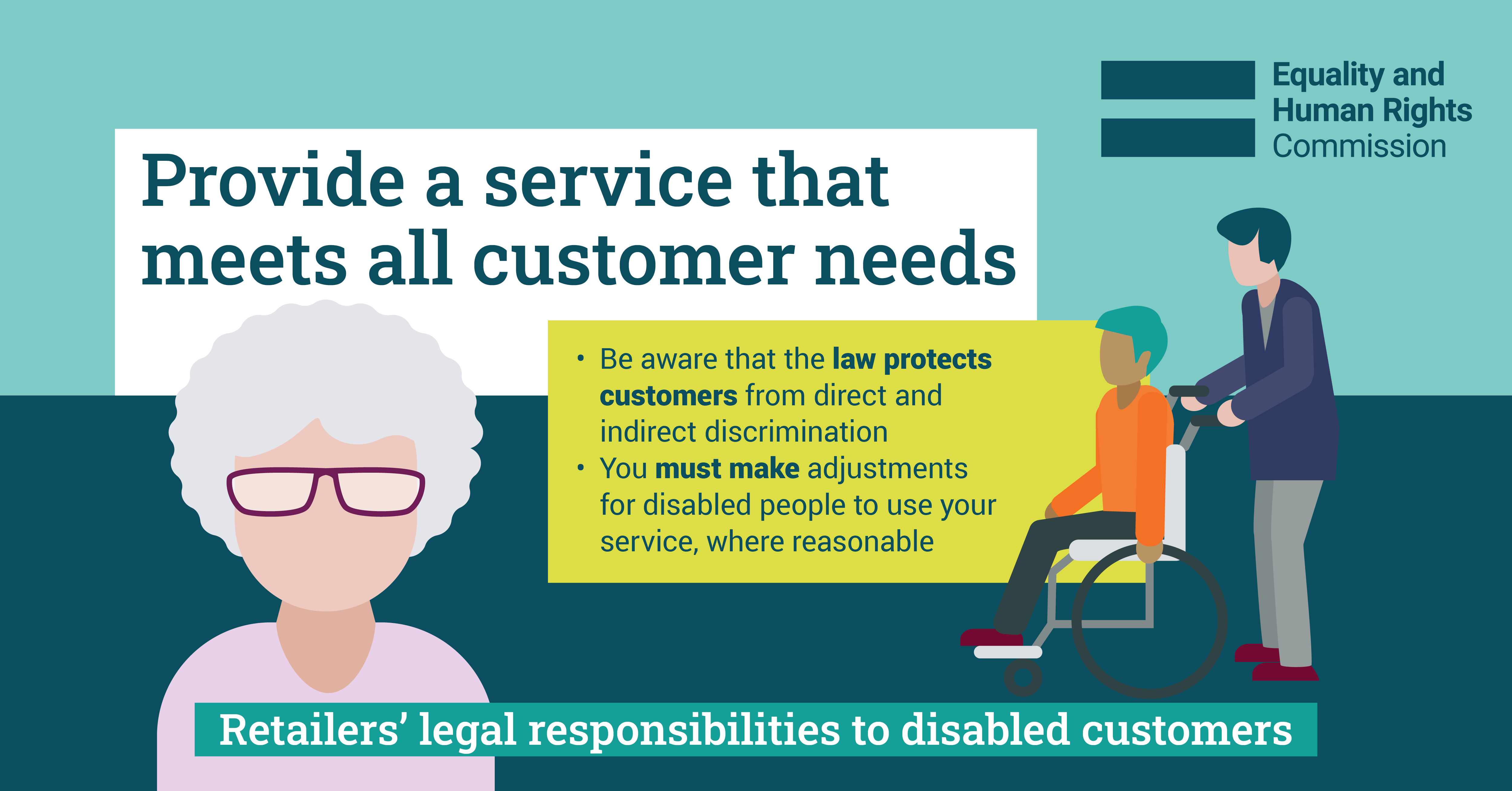 Infographic: Provide a service that meets all customer needs