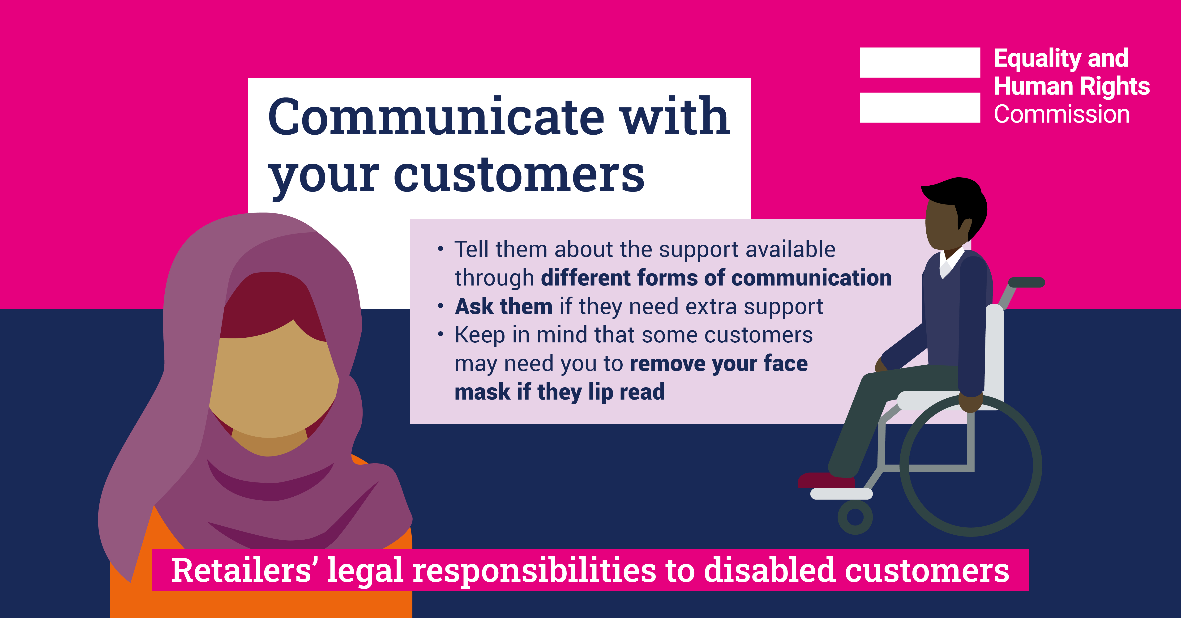 Infographic: Communicate with your customers