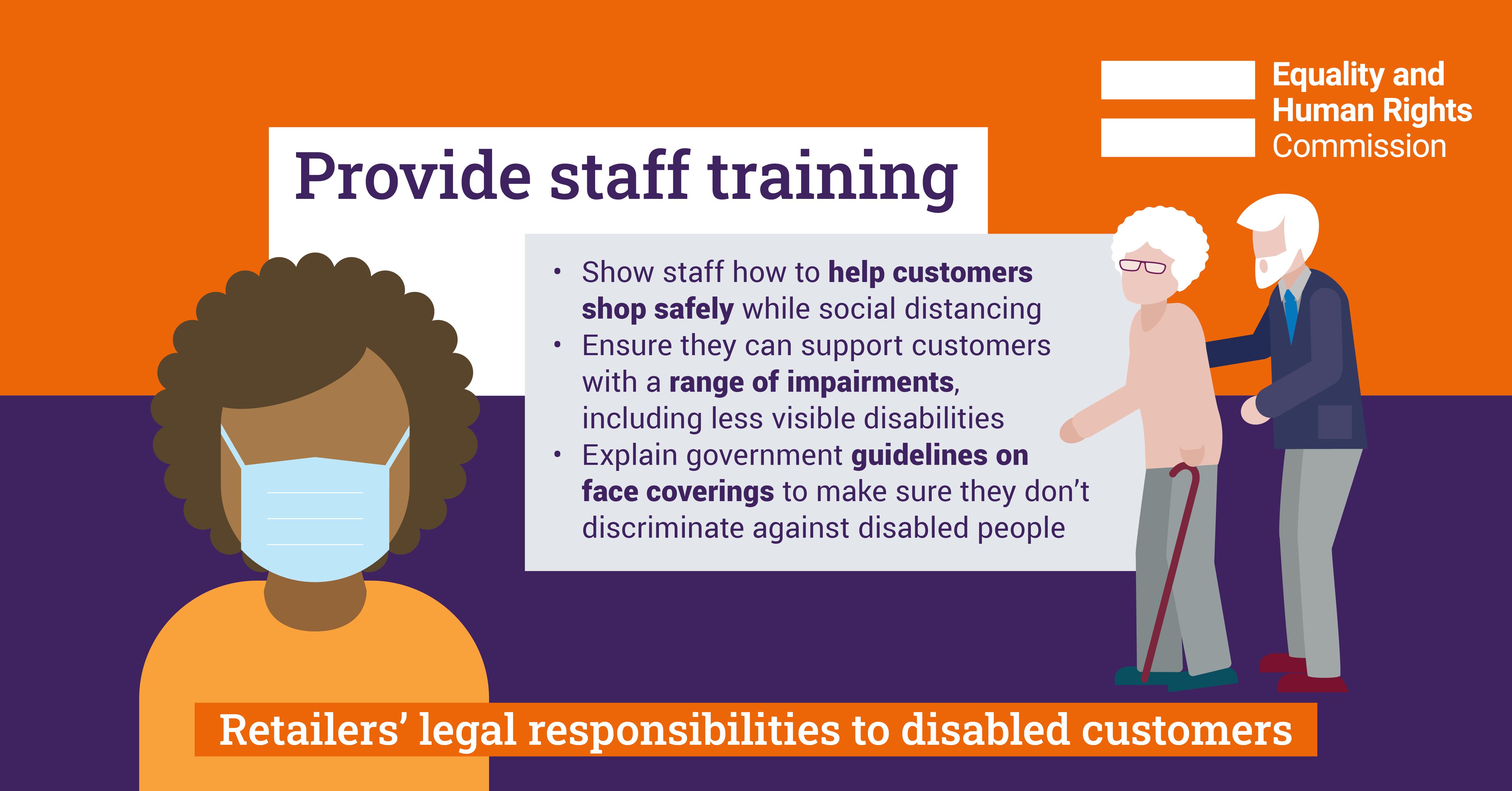 Infographic: Provide staff training