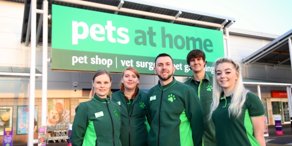 Pets at Home staff