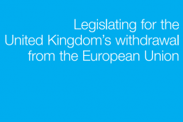 Great Repeal Bill White Paper cover