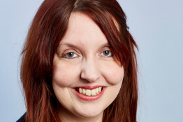 Profile picture: refugee and asylum lead, Rosie Wallbank