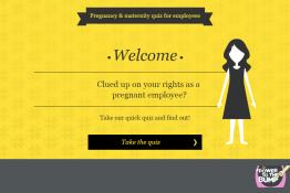 Employee quiz page