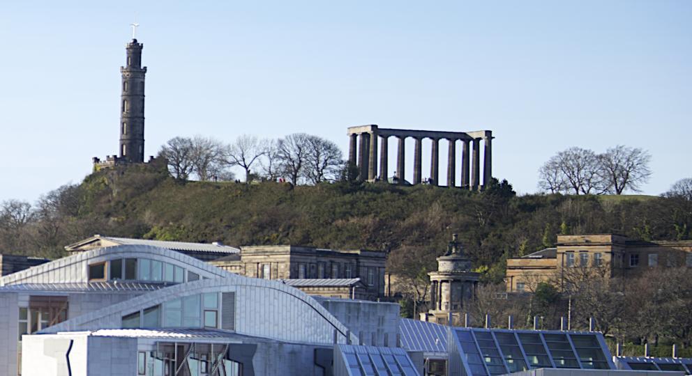 Scotland: the Edinburgh skyline
