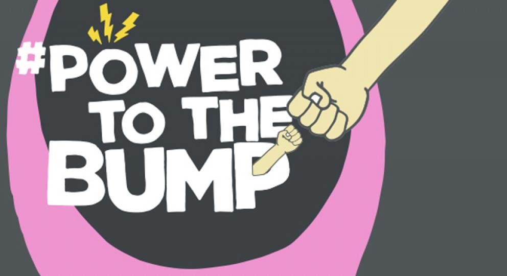 Power to the Bump graphic