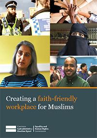 Cover of Creating a faith-friendly workplace for Muslims publication