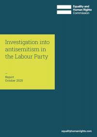 Front cover of Labour Party investigation report