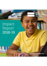 Front cover of Impact Report 2018-19