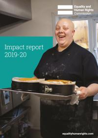 Front cover of impact report 2019-20