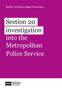 Met Police Inquiry cover