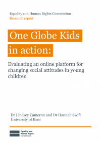 Publication cover: One Globe Kids in action