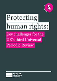 Protecting human rights publication cover