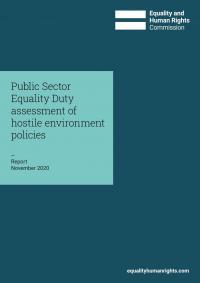Front cover of hostile environment assessment report