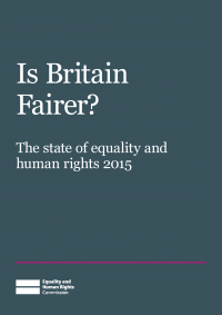 Publication cover: Is Britain fairer?