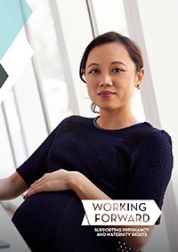 Publication cover: Working forward best practice guidance for employers
