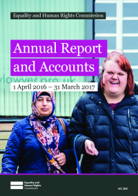 annual report and accounts 2016 to 2017