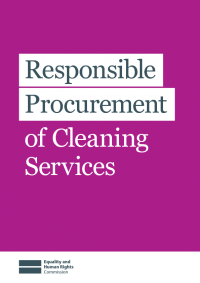 cleaners rights responsible procurement of cleaning services