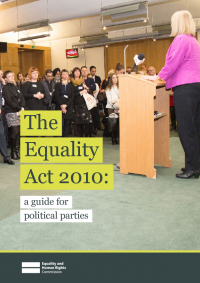 equality act 2010 guidance for political parties