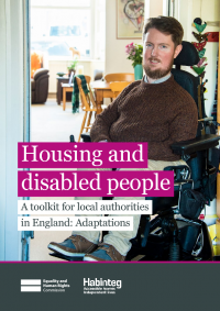 housing and disabled people local authorities toolkit england adaptations