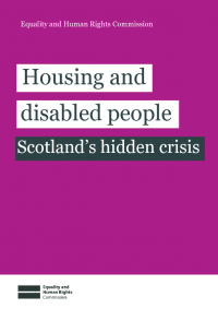 housing and disabled people scotland hidden crisis long summary