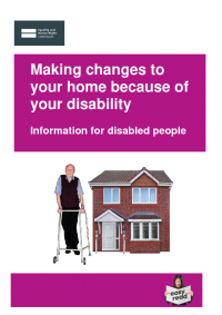 housing and disabled people your rights adaptations easy read