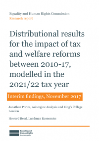 impact of tax and welfare reforms 2010 2017 interim report