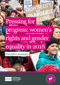 pressing for progress womens rights and gender equality in 2018 executive summary