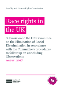 race rights in the uk   august 2017