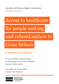 research report 121 people seeking asylum access to healthcare evidence review