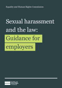 sexual harassment and the law guidance for employers