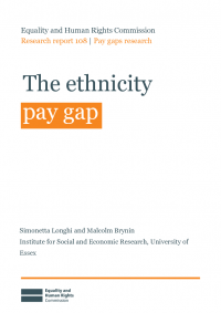 the ethnicity pay gap