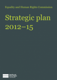 This is the cover of the Commission's Stategic Plan 2012-15