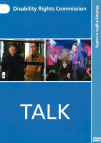 This is the cover of the Talk DVD