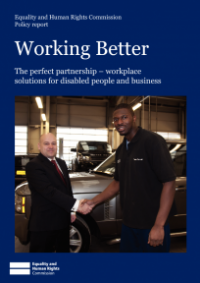 This is the cover of Working better: the perfect partnership publication