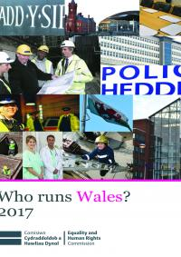Front cover of Who runs Wales? 2017