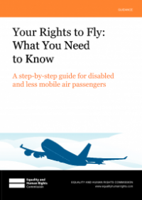 This is the cover for Your rights to fly: what you need to know